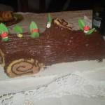 Ceppo natalizio il sapore delle idee for Cucinare a 70 gradi